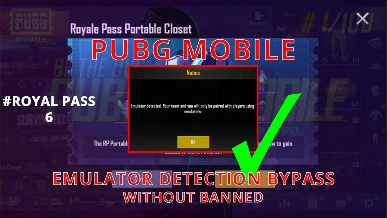 PUBG Emulator Detected Bypass Tencent Gaming Buddy | Pubg Mobile 0 11  Bypass Without Ban