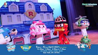 FOREST ADVENTURE ROBOCAR POLI LIVE SHOW | First in Hong Kong|5th & 6th April 2021