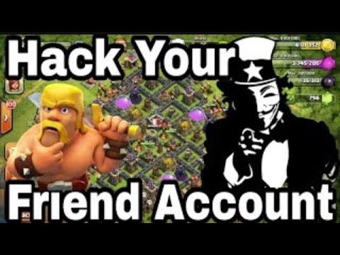 How To Hack Someone's Account In Coc✌🏻✌🏻✌🏻| By KM Edits