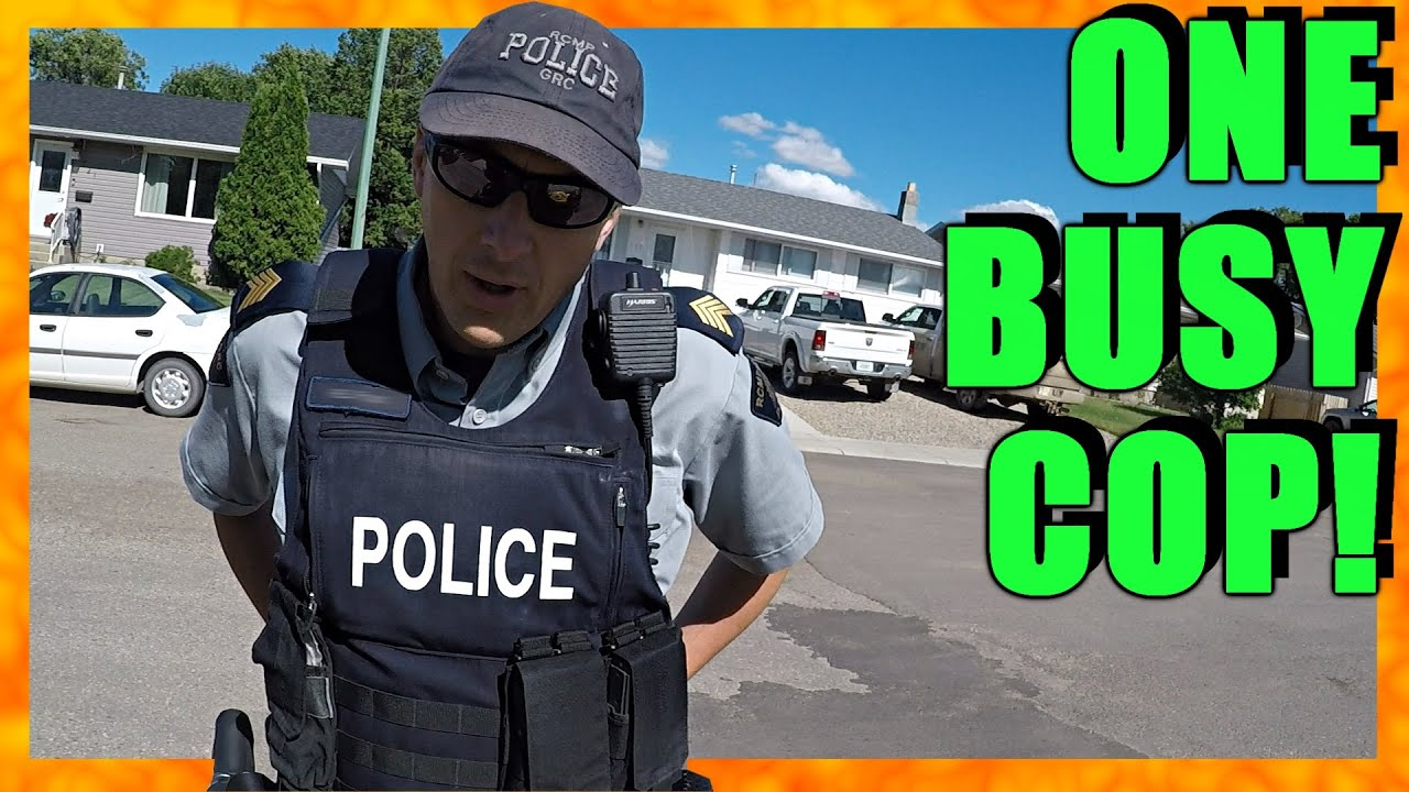 COPS, A RANT, AND TERRIBLE DRIVERS OF CANADA