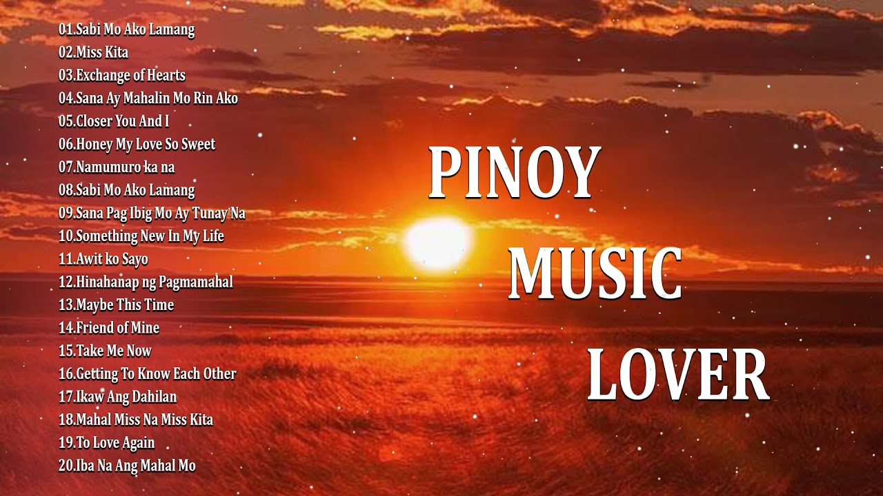 Tagos Sa Puso OPM Tagalog Love Songs - Best Songs 80's 90's (Collection) - Pinoy Music Lover