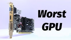 The WORST Graphics Card | Nvidia Geforce 210 / GT 210