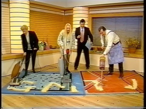 Battle Of The Vintage Vacuum Cleaners Gmtv Hoover Junior