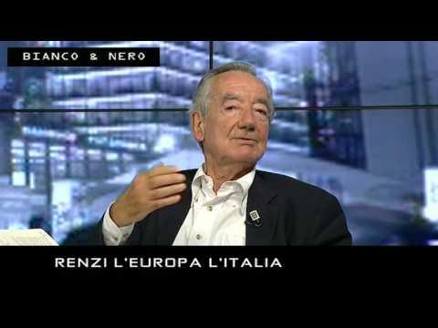 RENZI L'EUROPA L'ITALIA (4° Tempo) - 28/09/2016 - BIANCO E NERO