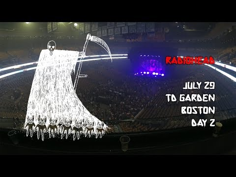 Radiohead 2018 Boston Day 2 [Full Concert, Balcony]