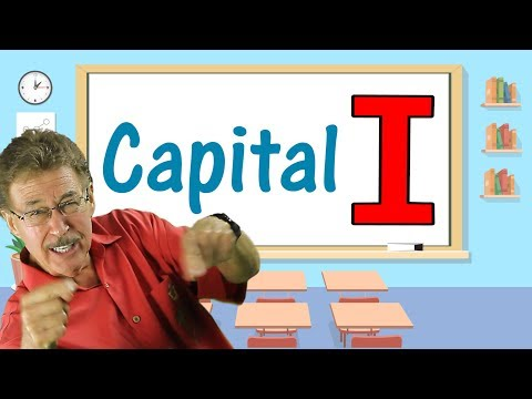 Capital I | Writing Song for Kids | Jack Hartmann