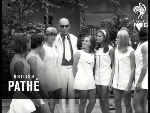 Wimbledon Fashion Preview 1967 Youtube