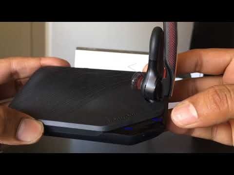 Unboxing Plantronics Voyager 5200 Series Bluetooth Headsets Charger Case Youtube