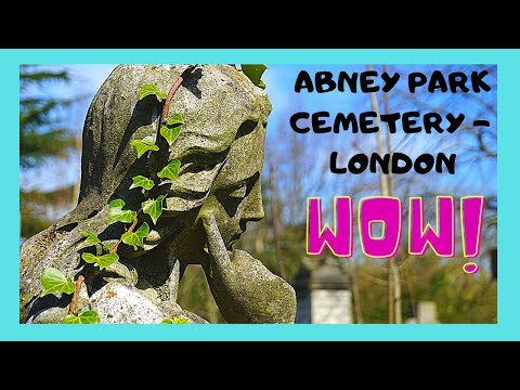 Ancient Abney Park Cemetery in Hackney, London
