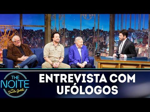 Entrevista com ufólogos  The Noite 031218