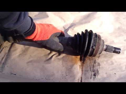 How to check and service drive shaft gasket and boot