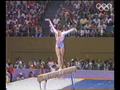 Mary-Lou Retton - Stunning Individual All-Round Gold | Los Angeles 1984 Olympics