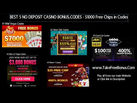 ★★TOP 5 No Deposit Bonus Casinos For 2019★★