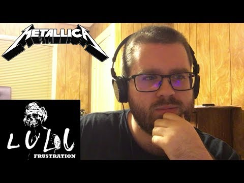 Metallica Lulu album - all riffs (no Lou Reed) Reaction!