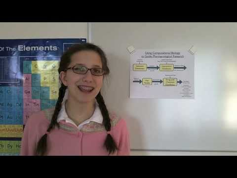 Katie and Caysie (Biology Vid 1) - Using Computational Biology To Help Guide Pharma. Research