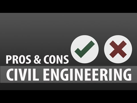 Pros and Cons of of being a Civil Engineer | (civil engineering is worth it?)