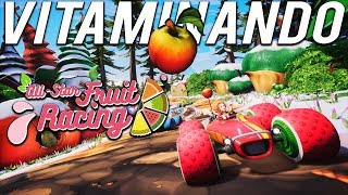 CORRIDA COM CARROS DE FRUTAS - All-Star Fruit Racing