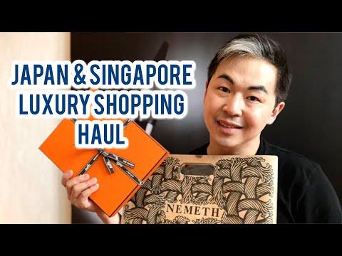 Japan and Singapore Luxury Haul