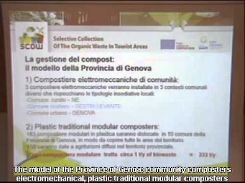The Scow model implemented in the Genova Province a possible solution for Ligurian landscape