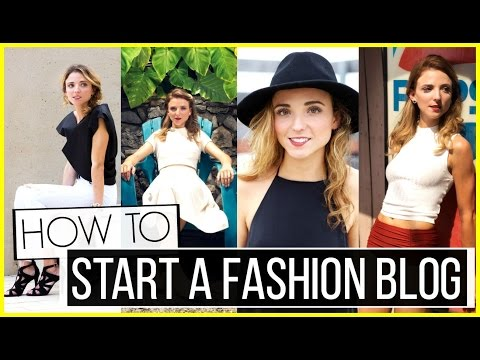 How to Start a Fashion Blog + GIVEAWAY