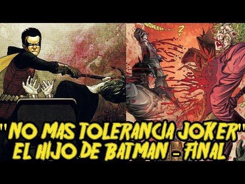 Damian mata al Joker - Damian hijo de Batman-...