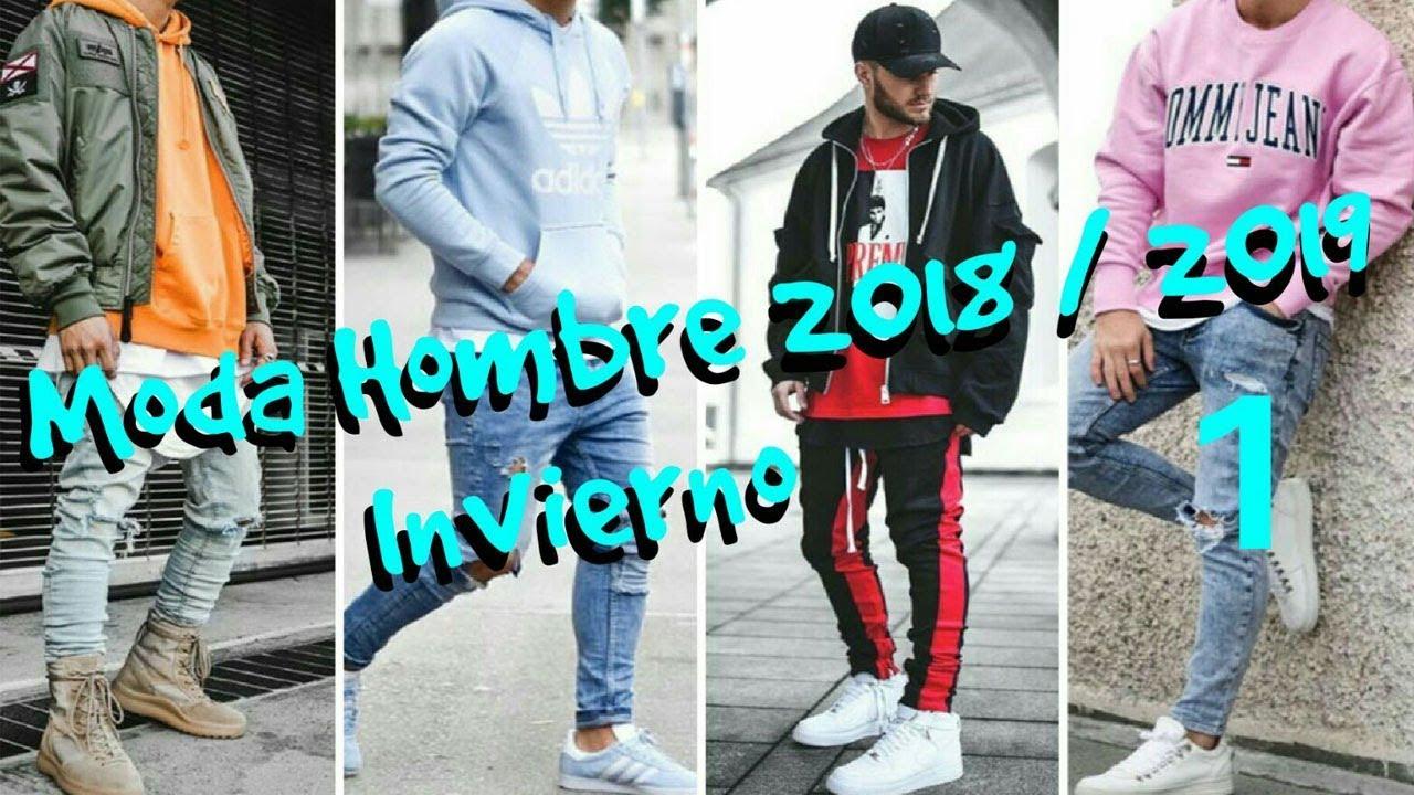MODA HOMBRE INVIERNO 2018 2019 (TENDENCIAS) (Parte 1) - YouTube c1327ae90a7