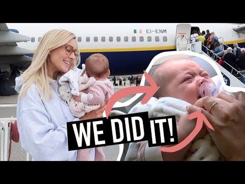 BABY'S FIRST FLIGHT!! (Ireland Travel Vlog)