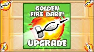 THE NEW TOP SECRET GOLDEN FIRE DART MONKEY UPGRADE | Bloons TD Battles Hack/Mod (BTD Battles)