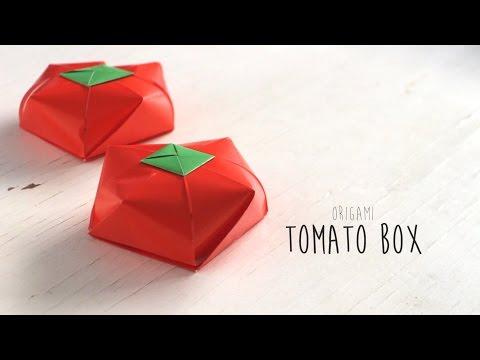 Origami Tomato Box
