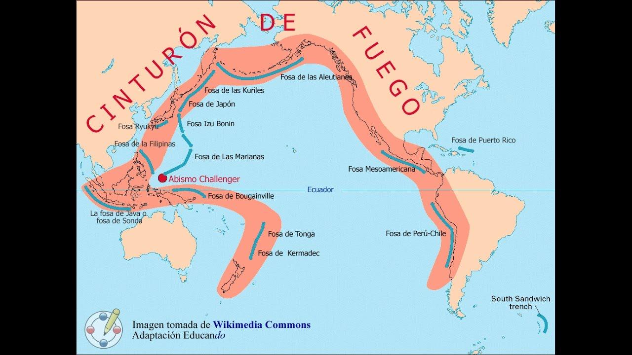 Cinturón de Fuego del Pacífico formación y actividad - YouTube 83dad94fe757