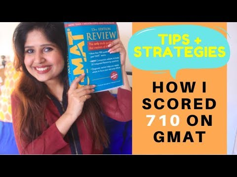 My GMAT  Preparation Journey | 710 score in only 4 months | Strategy Tips and Plans | Smita K