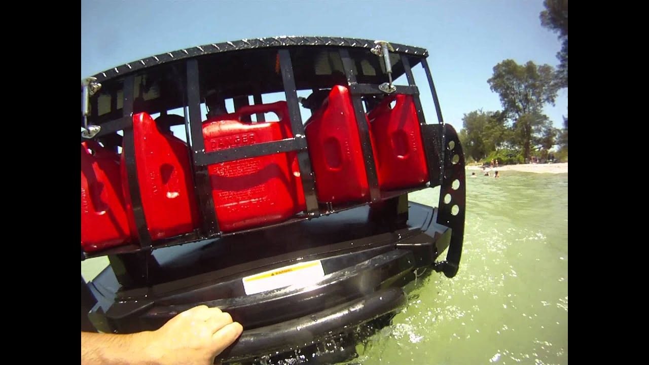 Jetski Junkies Jet Ski Gas Rack Youtube
