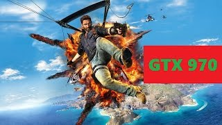 Just Cause 3 | Frame Rate Test | Max Settings | GTX 970 | i7 4790k