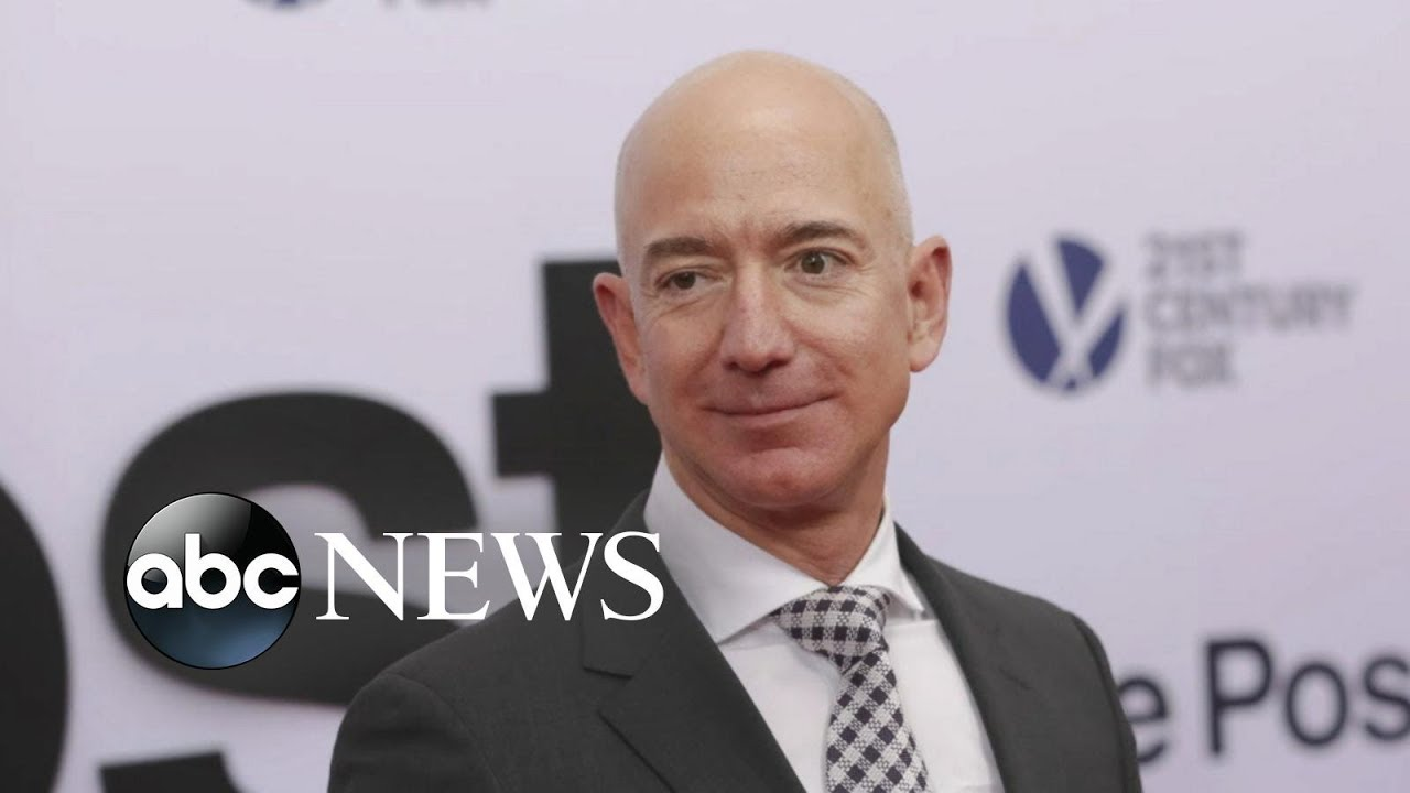 Jeff Bezos accuses the National Enquirer of extortion and