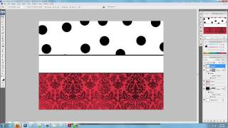 How to design a personalized platter template in Photoshop