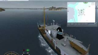 Ship Simulator 2008 Gameplay | Fishing Mission | Part 1