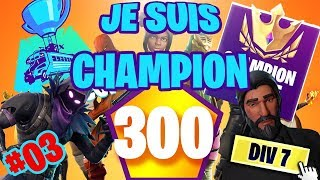 I PASSE DIVISION CHAMPION GRACE TO THIS GAME - FORTNITE ROAD TO DIV 7 #03
