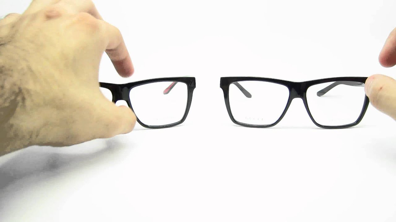 Gucci GG 1008 Eyeglasses Review | Close Look - YouTube