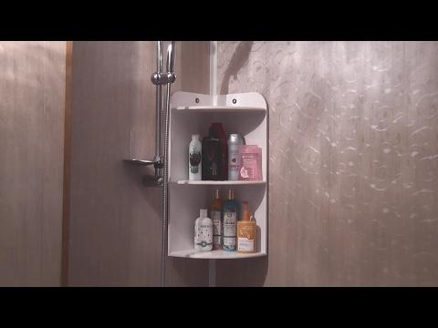 видео: Как сделать полку из керамической плитки для ванной комнаты