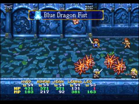 Let's Play Lunar 2 Eternal Blue Complete #94- Water Ruins