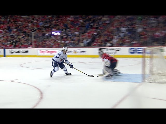 "Nikita Kucherov pulls off ""No Shot"" goal to score on Braden Holtby"