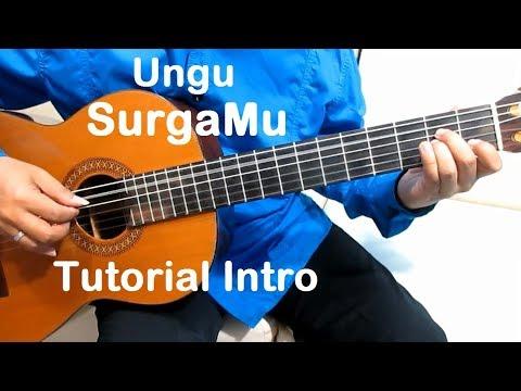 Belajar Gitar Ungu SurgaMu (Intro) - Belajar Gitar Fingerstyle Untuk Pemula Mudah & Simpel