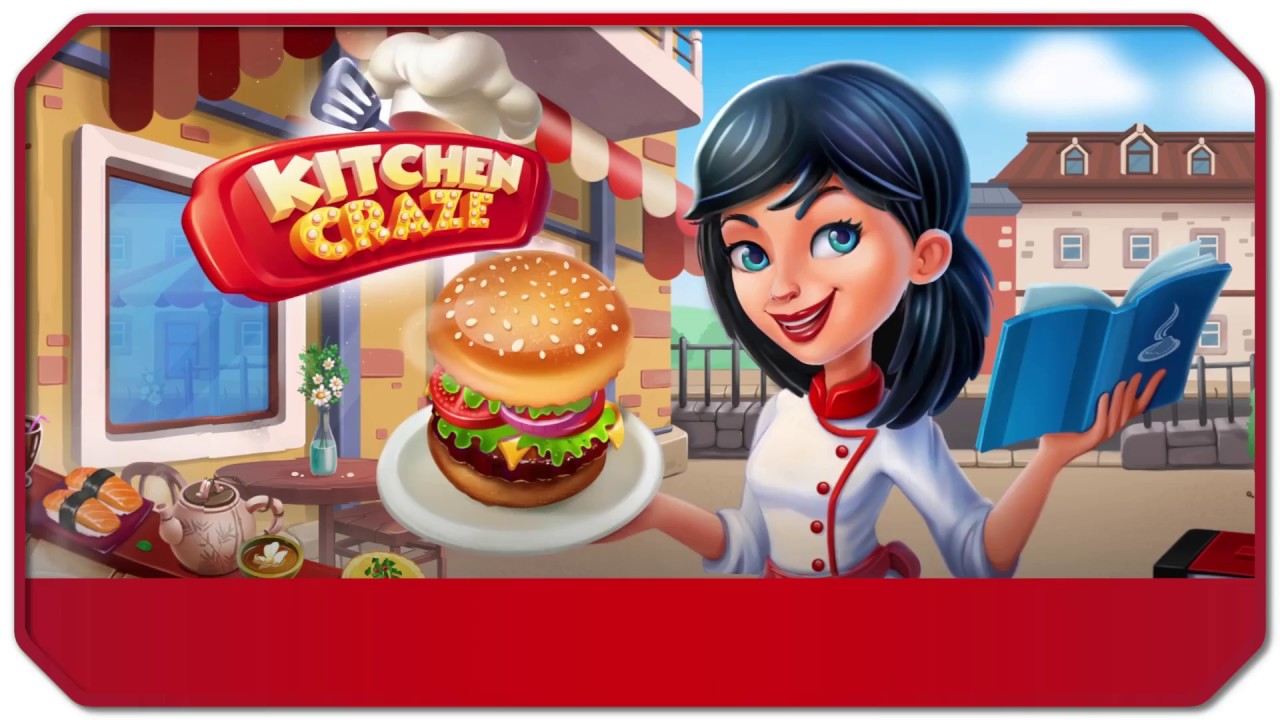 Kitchen craze cooking chef