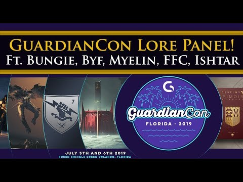 Destiny 2 Lore Panel At GuardianCon! Ft. Jonathan To From Bungie, Myelin Games And More!