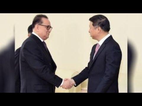 China and North Korea hold high-level talks