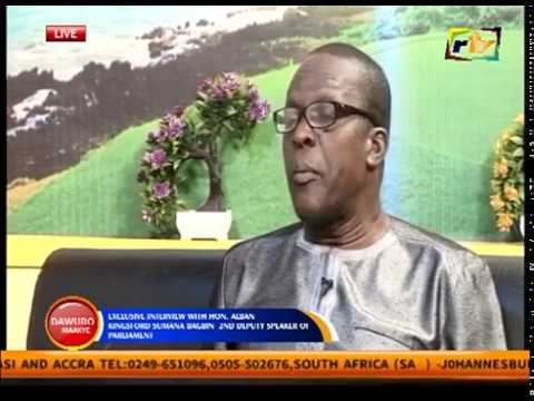 EXCLUSIVE WITH HON ALBAN BAGBIN (2ND DEPUTY SPEAKER OF PARLIAMENT) PART TWO