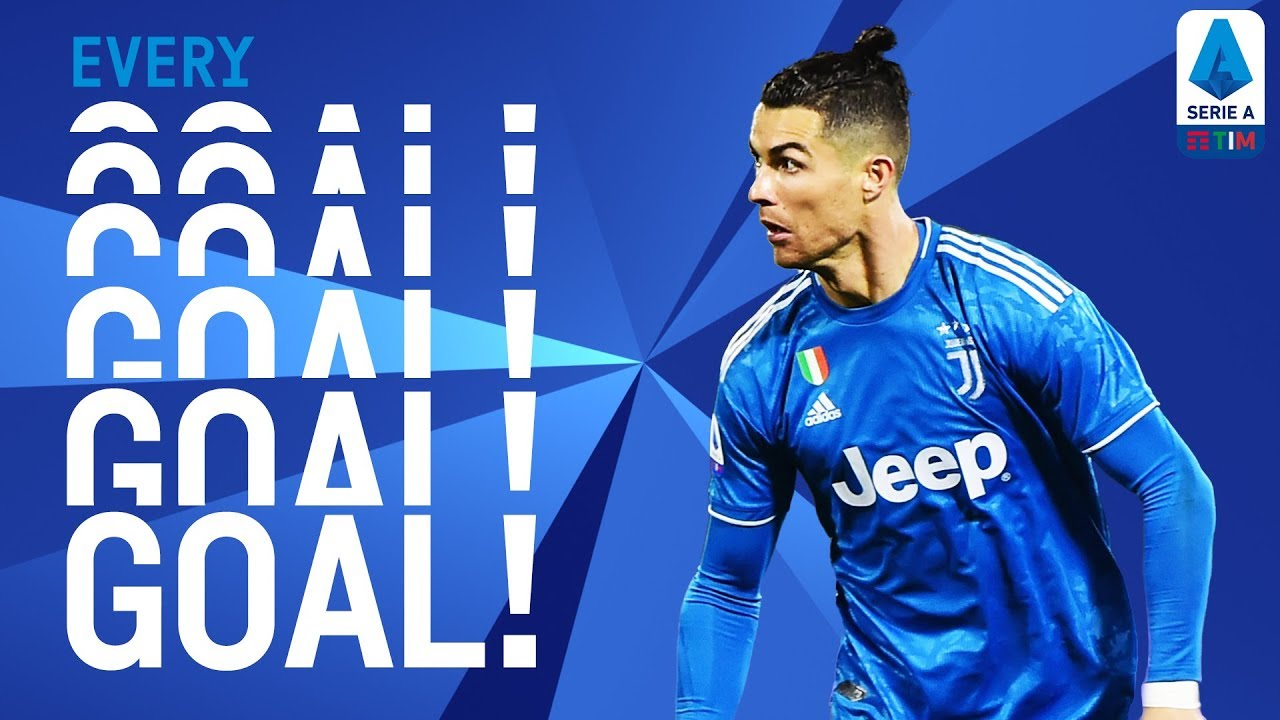 Ronaldo Scores for 11th Successive Game! | EVERY Goal R25 | Serie A TIM