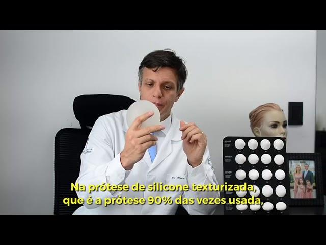 Diferença da prótese poliuretano e texturizada - Cirurgia Plástica Marco Cassol