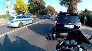 Мото ситуации на дороге.