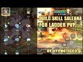 Skill Build Saleana for Ladder PVP | Dragon Nest M SEA